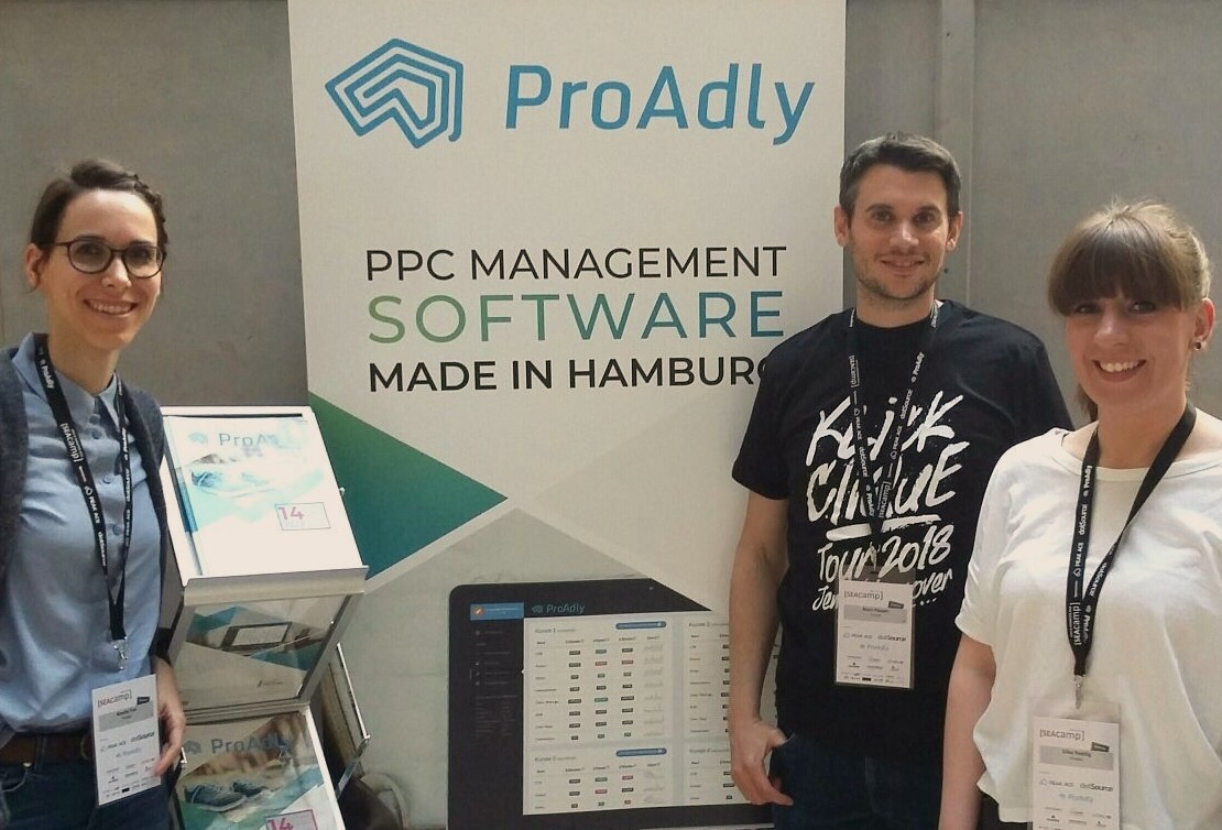Das ProAdly-Team in Jena 2018 - Mit ProAdly kinderleicht AdWords optimieren.